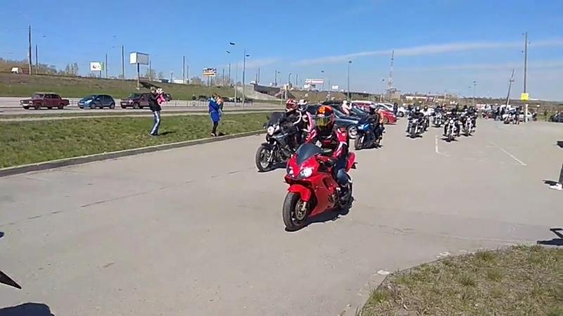 Открытие мотосезона 19 05 2018 Арена Омск