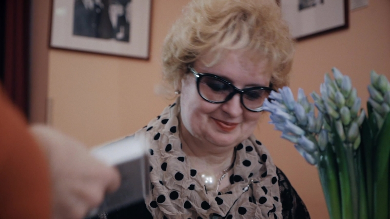 Творческий вечер Тамары Сапегиной, видеорепортаж с интервью.