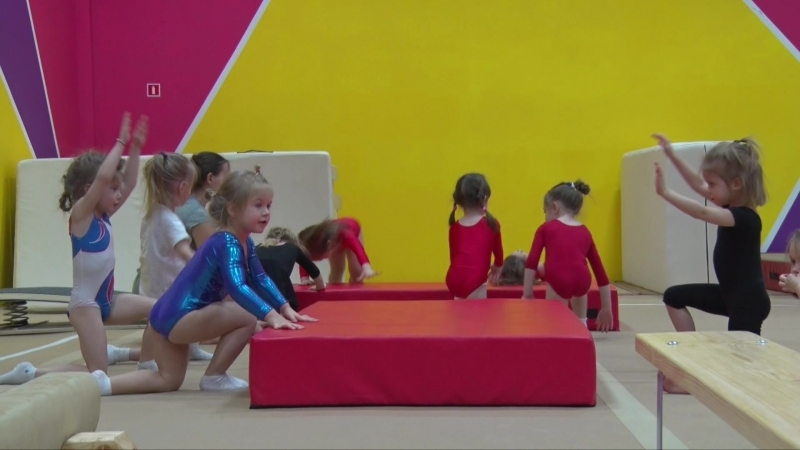 Спортивная гимнастика у девочек