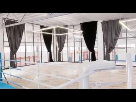 Виртуальная реальность. Тур по дворцу спорта Алашара.