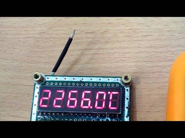 Подключение термопары AVR RU