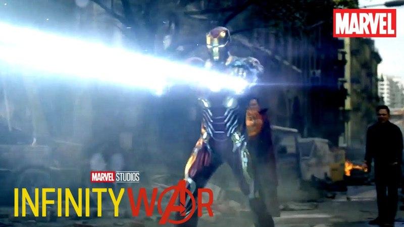 AVENGERS INFINITY WAR New York Battle Scene Commercial NEW (2018) Marvel Superhero Movie HD