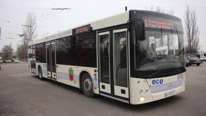В Запорожье запустили новый маршрут № 17