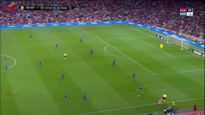 Real Madrid 11 vs Barcelona 1 - El Clásico 2017 - La Liga -Parodia - Messi vs Ro