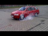 Fiat Palio Weekend 1.6 16V Palenie Gumy