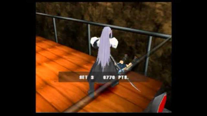 Ehrgeiz (PS1) Gameplay