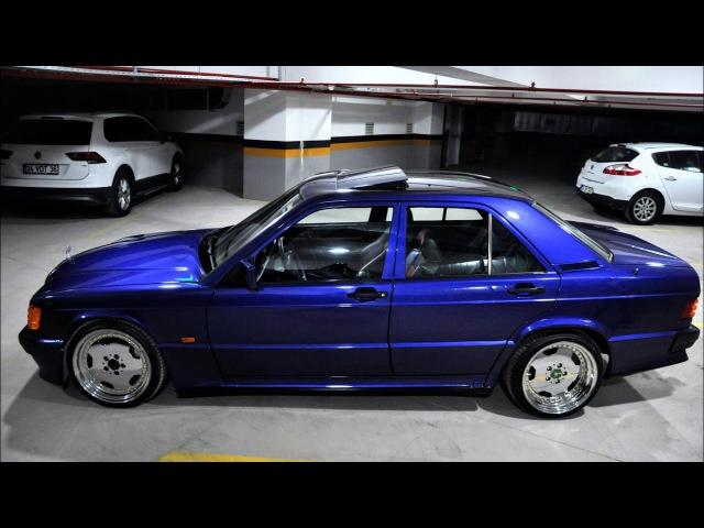 1993 Mercedes-Benz 190E Avantgarde Azzurro Cosworth Project Restoration in Turkey 🇹🇷