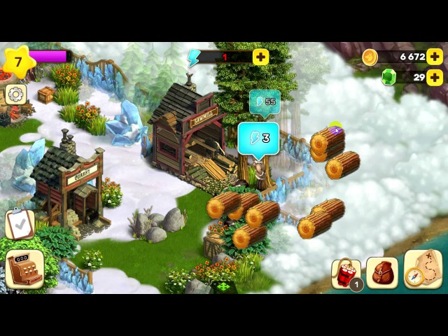 Klondike Adventures - Android ( Мобильный Клондайк) 2