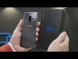 Распаковка Samsung Galaxy S9+ для России рядом с S8+, Note 8 и Pixel 2 XL. Обзор и сравнения в пути!