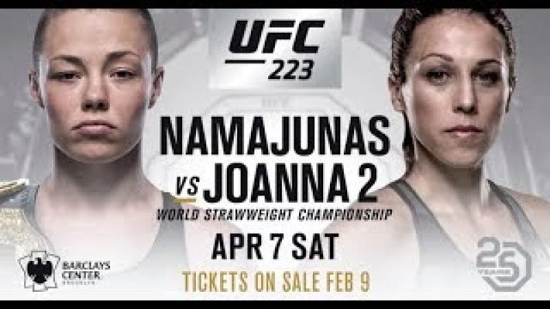 UFC 223: Rose Namajunas vs Joanna Jedrzejczyk 2 - PROMO - ''See What I've Become''