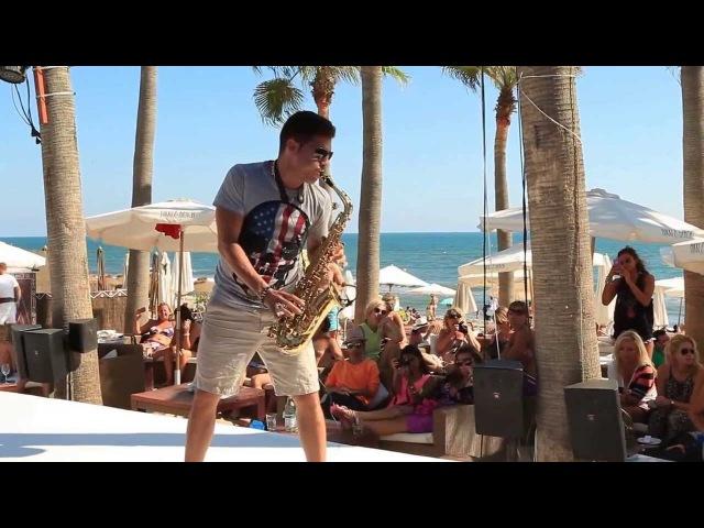 Pablo Melgar - Sax Nikki Beach Marbella 2013