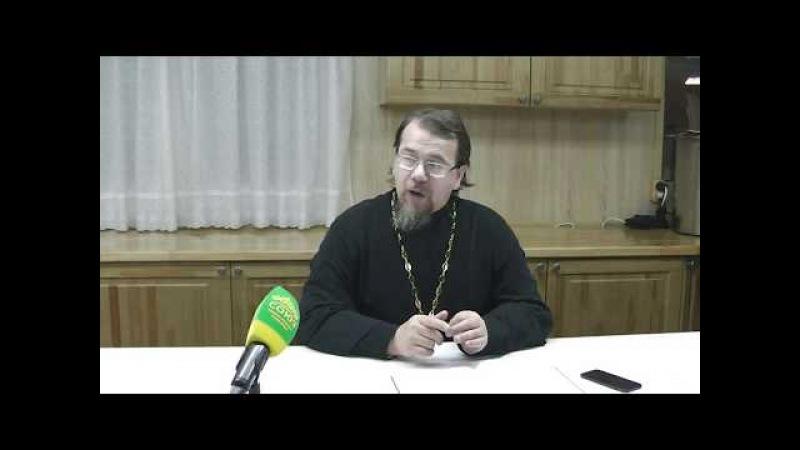 Великий покаянный канон Андрея Критского (часть 2). Беседа с иереем Константином Корепановым