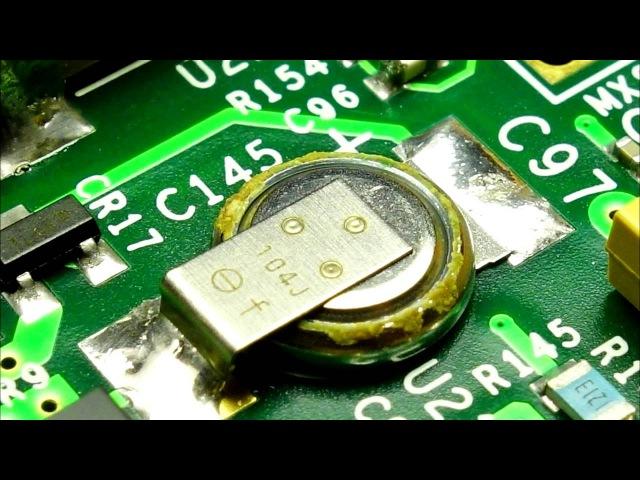 Fluke 289 - Supercapacitor Leaking/Corrosion Issue