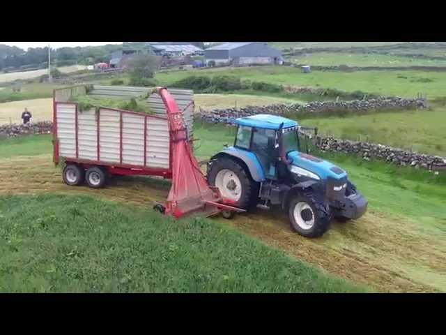 Making the Silage