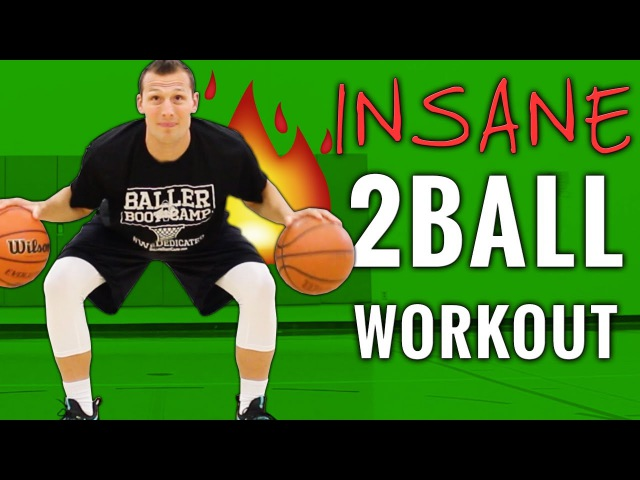🏀 INSANE 2 Ball Dribbling Drills 😲 For Serious Basketball Players Only!