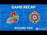 Highlights: Lokomotiv Kuban Krasnodar - Partizan Nis Belgrade. Еврокубок. Локомотив-Кубань - Партизан