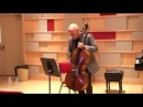Robert deMaine Master Class: Mayuzumi Bunraku for Solo Cello