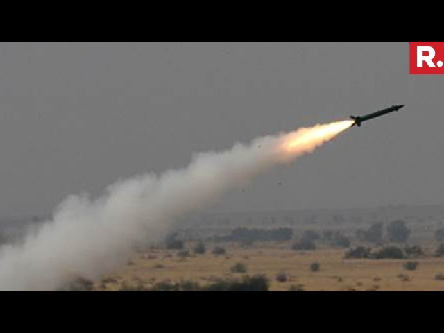 Successful Test Of BrahMos Supersonic Cruise Missile In Pokhran