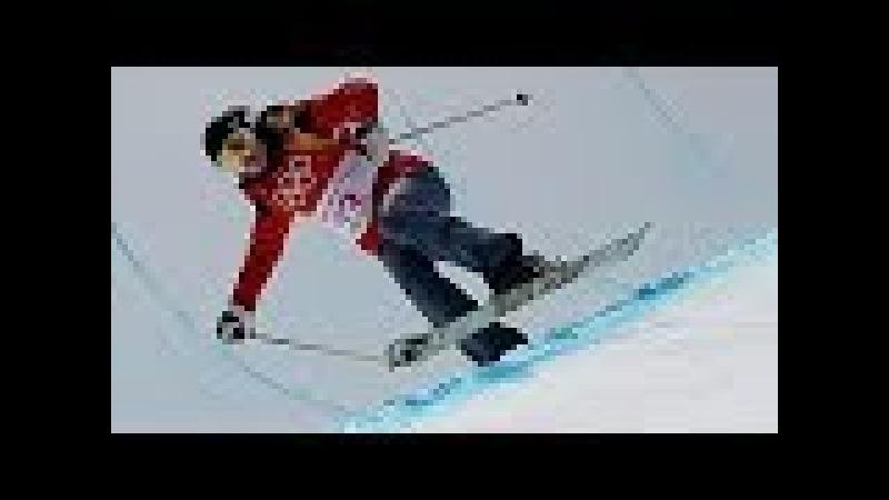 VIDEO Hungary skier Elizabeth Swaney attempts zero tricks in halfpipe Olympic final qualifier