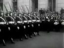 Советский марш «Мы рождены» и нацистский «Herbei zum Kampf.