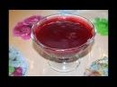 Клюквенный соус к мясу./Cranberry sauce for meat.