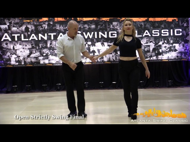 Robert Royston Victoria Henk - Atlanta Swing Classic 2017 Open Strictly 2nd Place