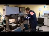 Наша съемочная группа побывала в производственной лаборатории «Новгородавтодо...