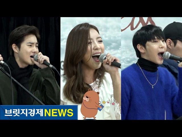 [브릿지영상] 엑소 수호(EXO SUHO)·루나(LUNA)·빅스 레오(VIXX LEO)의 열창…뮤지컬 '더 라스트 키49