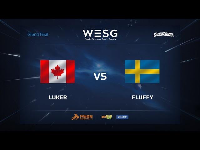 Fluffy vs Luker WESG 2017 Grand Final