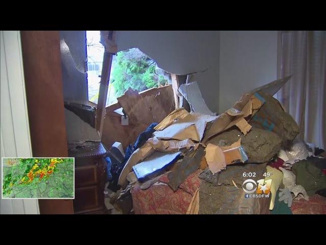 EF-0 Tornado Damages Homes Overnight In DeSoto