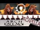Arch Enemy - aCapella! - Nemesis! A Cover Parody Multitrack By Dan-Elias Brevig. Feat: Ane Svendsen.
