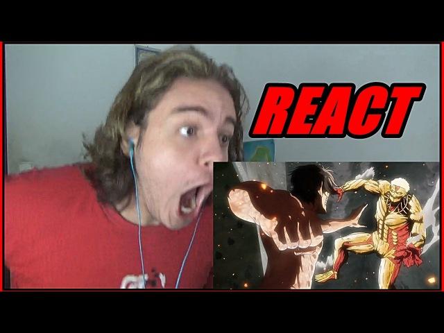 REACT Attack On Titan (shingeki no kyojin) EP 6