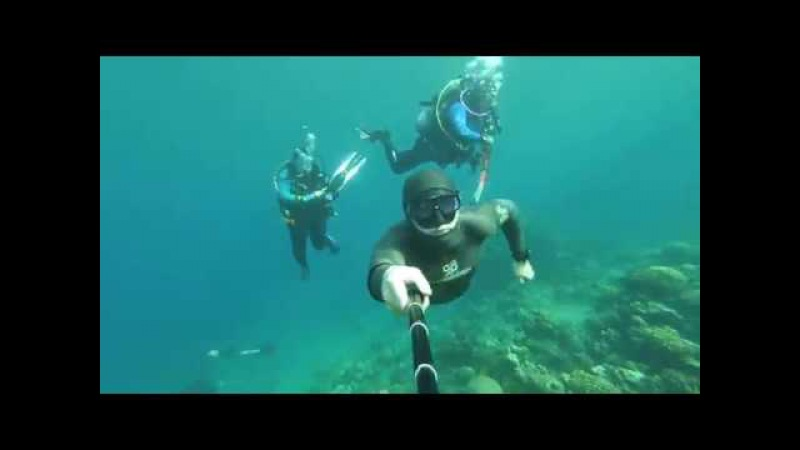 Freedives for fun in Canyon Dahab Egypt 2017