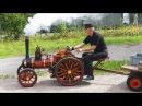 ТРАКТОР ПАРОВОЙ (Amazing Homemade Inventions 2017 5 ★ Burrell Traction 4 Inch)