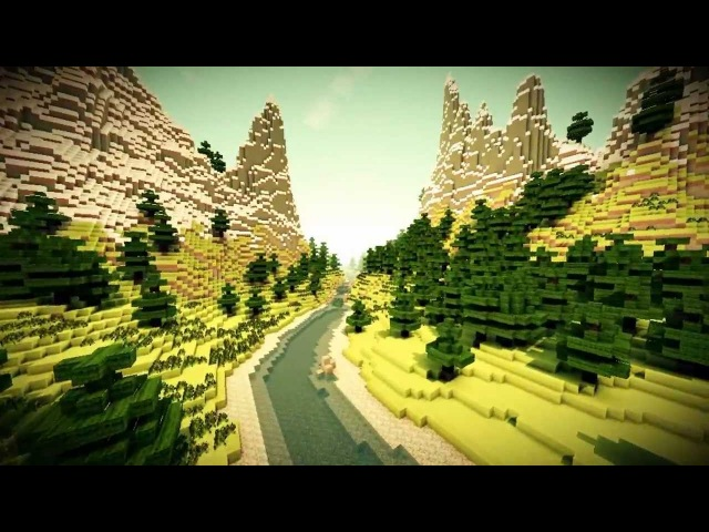The Opening - Minecraft Cinematic (Sonic Ethers Unbelievable Shader SummerFields)