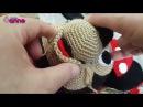 Amigurumi Mickey Mouse Miki Mause Ağız Yapılışı , Canım Anne
