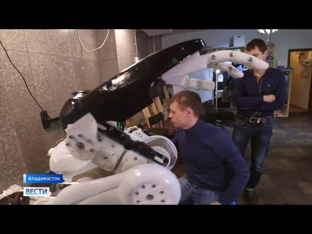 Робот Адам на телеканале Россия 1