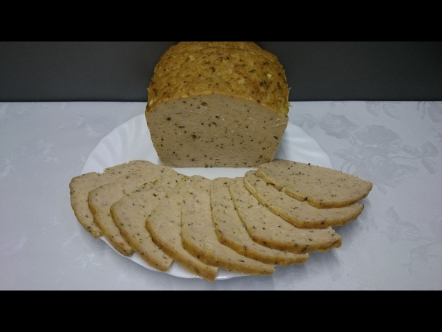 Мясной хлеб на бутерброды. Лучше всякой колбасы