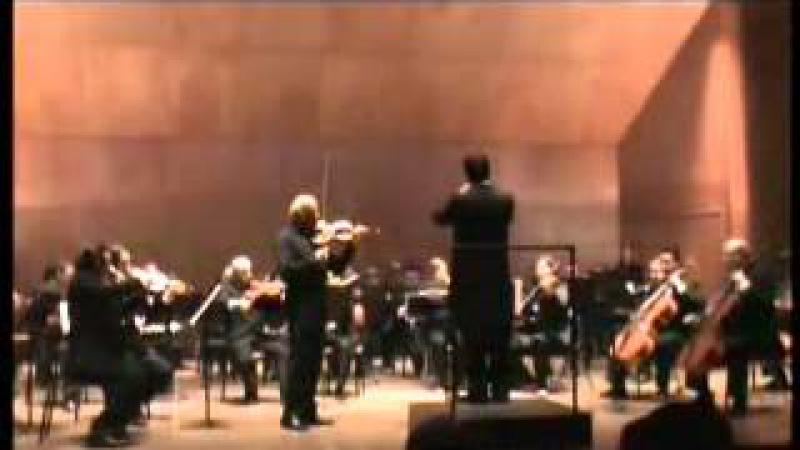 Dmitri Pethoukhov, Concierto para violín y orquesta en mi menor Op. 64 F. Mendelssohn