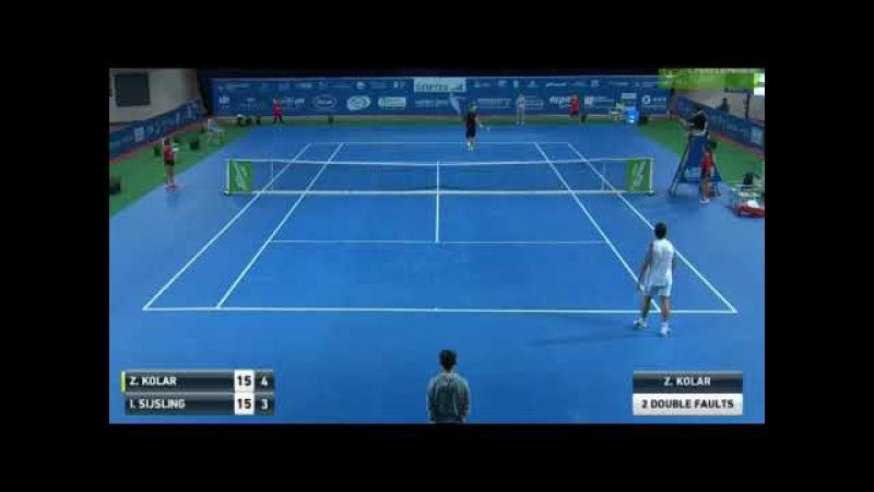 Blind Chair Umpire Against Servebot