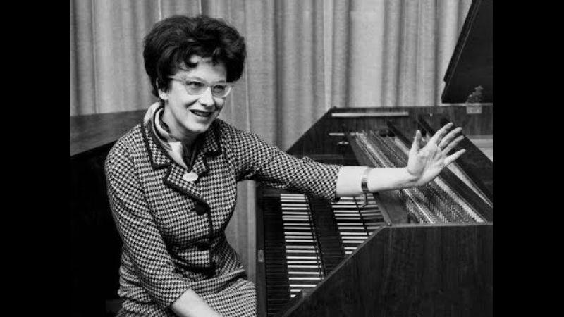 JS Bach / Zuzana Ruzickova, 1961: Partita No. 1 in B-flat major BWV 825