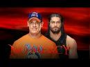 Roman Reings Vs John Cena -  Full Match No Mercy 2017
