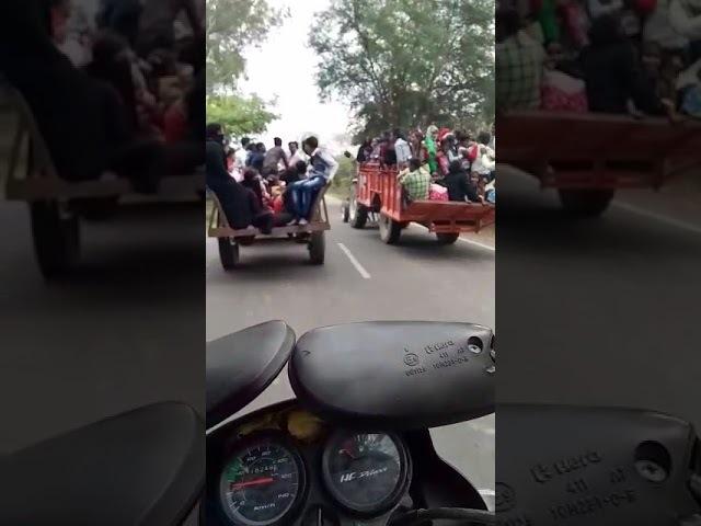 Tractor Trolly Accident ਮੇਲੇ ਤੇ ਜਾਂਦੀ ਟਰਾਲੀ ਪਲਟੀ