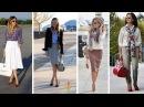 Мода 2018 для женщин 40 50 лет фото 💎 Как одеваться стильно Модные тенденции 50 весна лето 2018