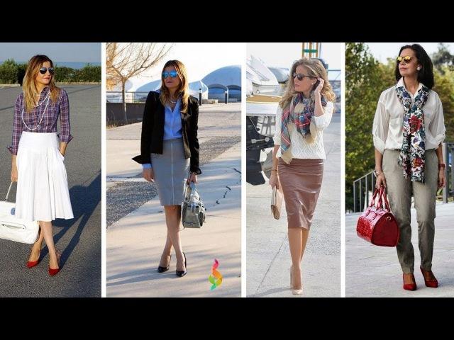Мода 2018 для женщин 40 50 лет фото 💎 Как одеваться стильно? Модные тенденции 50 весна лето 2018!