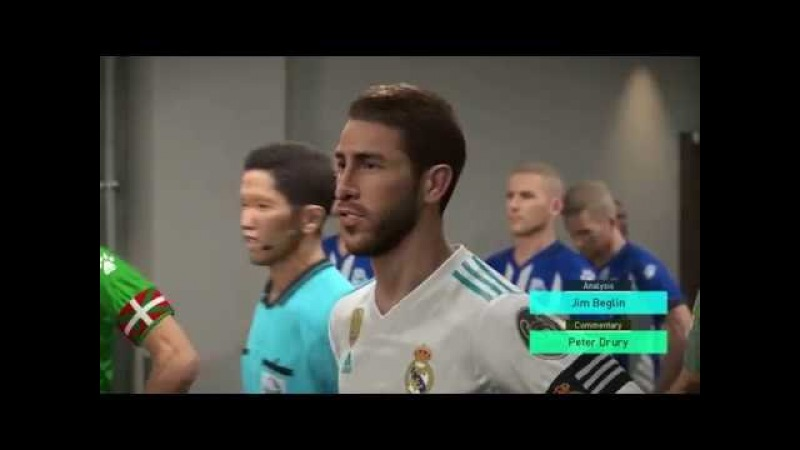 Real Madrid vs Deportivo Alaves | Full Match Goals 2018 | Gameplay PES 2018