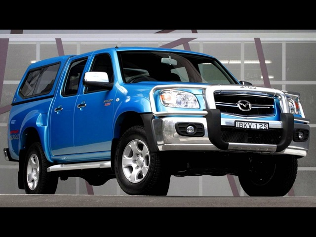 Mazda BT 50 Boss Double Cab AU spec J97M '2008–11