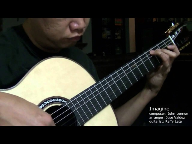 Imagine - J. Lennon (arr. Jose Valdez) Solo Classical Guitar