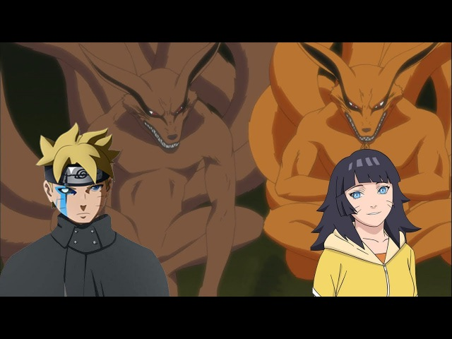 WOW Boruto dan Himawari akan menjadi Jinchuriki Kurama setelah kematian Naruto