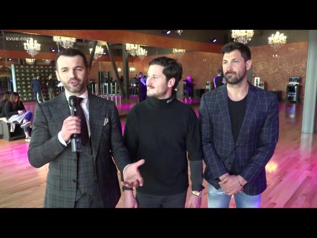 Interview | DWTS cast members open Austin dance studio - KVUE - 01.25.18